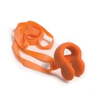 Orange Molded Plastic Nose Clip Water or Swimming Pool Accessory