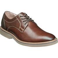 Florsheim Men's Union Plain Toe Oxford Chocolate Leather