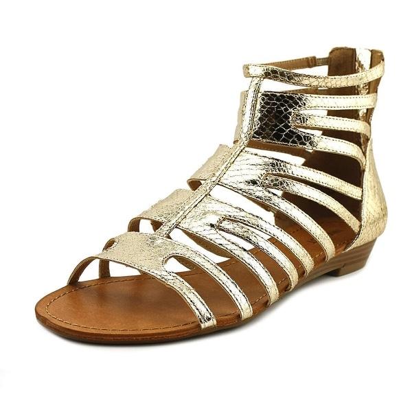 Nine West Sunray Sol Open Toe Synthetic Gladiator Sandal