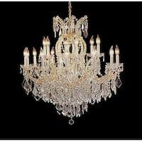 Swarovski Crystal Trimmed Chandelier Lighting H38 x W37