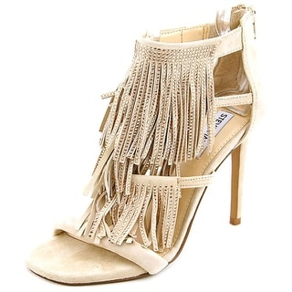 Steve Madden Fringly Open Toe Suede Sandals