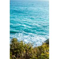 Blue Ocean And Waves Canvas Wall Art Photograph
