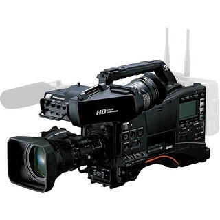Panasonic AJ-PX380 P2 HD AVC-ULTRA Camcorder with AG-CVF15 Color Viewfinder and 17x Fujinon Zoom Lens