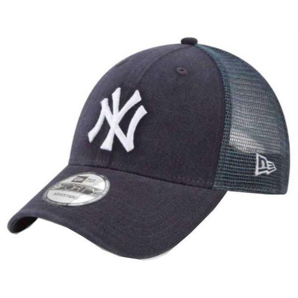 9469f0808 Shop New Era 2019 MLB New York Yankees Baseball Cap Hat Trucker Mesh ...