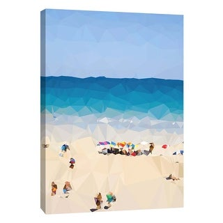 "PTM Images 9-105926  PTM Canvas Collection 10"" x 8"" - ""Beach Fragments E"" Giclee Beaches Art Print on Canvas"