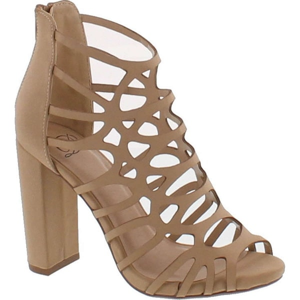 Delicious Women's Dress Sandal Shoes Wrapped Chunky Heel