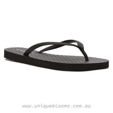 Reef Chakras Flip Flop Women - Black