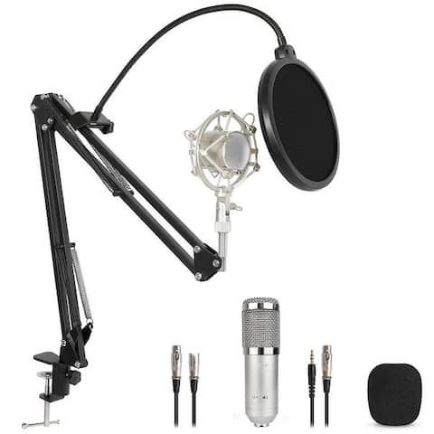 Technical Pro, Cardioid Condenser Microphone Studio Kit For recording, broadcast, sound reinforcement, vocal and instrumental