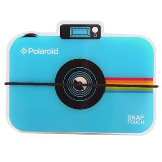 Polaroid Snap Touch Camera Photo Album - Accordion Style Album Holds 12 Photos For Zink 2x3 Photo Paper - Blue
