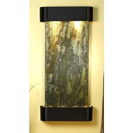Adagio CSR1502 Cascade Springs - Green Natural Slate Wall Fountain