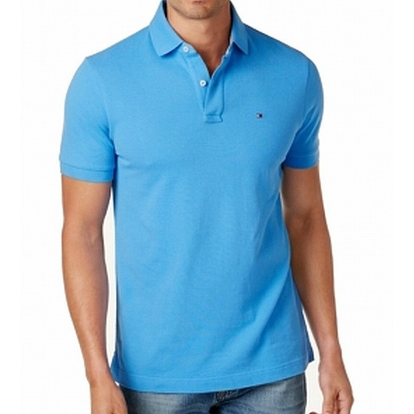 2d16aa93 Shop Tommy Hilfiger NEW Regatta Blue Mens Size XL Ivy Polo Custom-Fit Shirt  - Free Shipping On Orders Over $45 - Overstock - 21725623