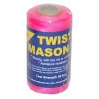TW Evans Cordage 11-193 Nylon Mason Line Twist, #18 x 1088', Pink
