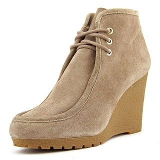 Michael Michael Kors Pierce Wedge Ankle Boot Women  Suede  Ankle Boot