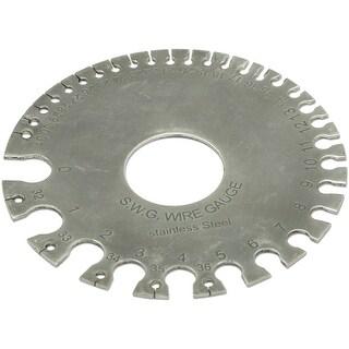 """Steel Wire/Drill Gauge Disk 3.5""""-Round"""