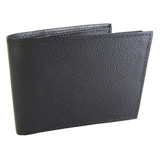 Michael Kors Men's Leather Passcase Wallet Black