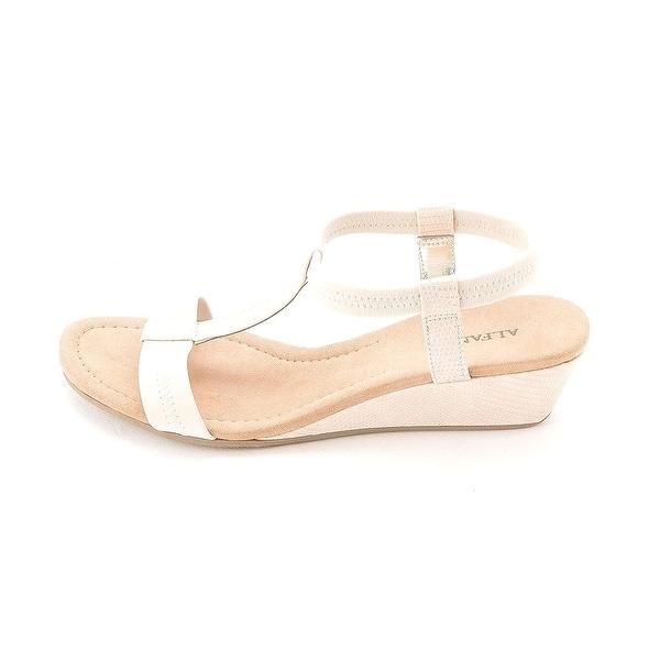 Alfani Womens Voyage Open Toe Casual Platform Sandals