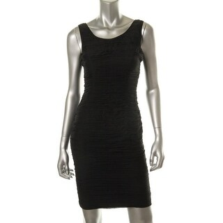 Rachel Zoe Womens Maddy Cocktail Dress Silk Matte Jersey Lining - 2
