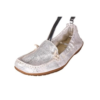 Hush Puppies Ceil Women Moc Toe Leather Flats