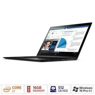"Lenovo ThinkPad X1 Yoga 20FQ003VUS - 14"" - Core i7 6600U - 16 GB RAM - 512 GB SSD ThinkPad X1 Yoga 20FQ003VUS"