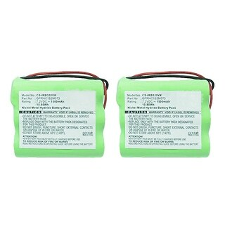 Replacement Battery for iRobot IRB320VX (2-Pack) Replacement Battery