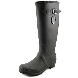 Kamik Jennifer Women  Round Toe Synthetic Black Rain Boot