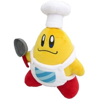 "Kirby's Adventure All Star Plush Collection: 8"" Chef Kawasaki"