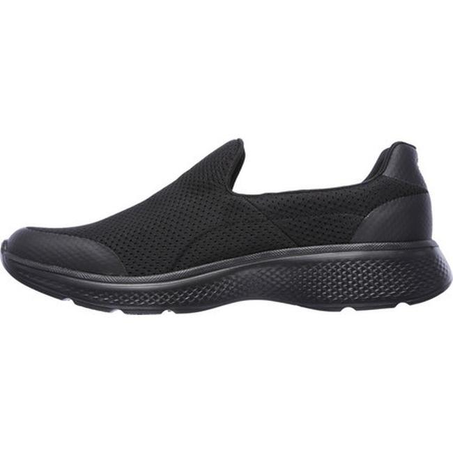 Sz 10 12 Skechers Performance 54152 Mens Go Walk 4 Incredible Shoes Black