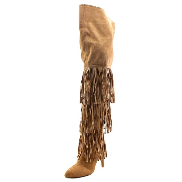 Chelsea & Zoe Kadence Women Camel Boots