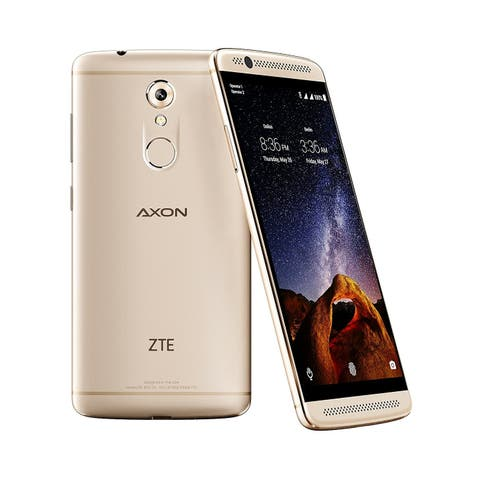 ZTE Axon 7 Mini Unlocked Smartphone GSM / 4G LTE 32GB Ion Gold - A7S122 Refurbished