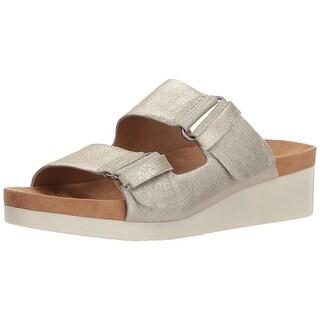 Lucky Brand Womens LK-FENIYA Leather Open Toe Casual Slide Sandals