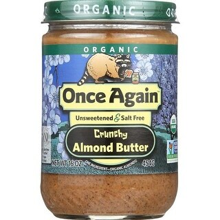 Once Again - Crunchy Almond Butter ( 12 - 16 OZ)