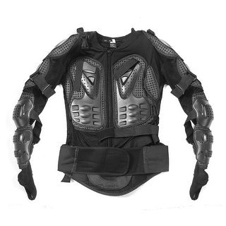 Motorcycle Racing Full Upper Body Armor Shirt Jacket Back Shoulder Protector XL