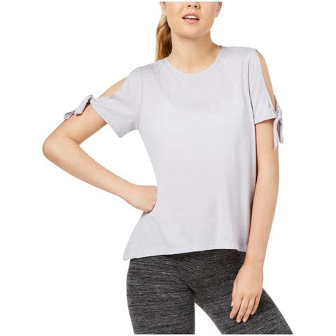 Calvin Klein Performance Womens Pullover Top Yoga Fitness