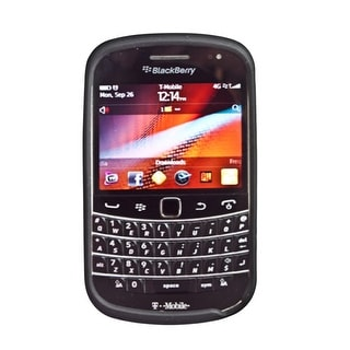 Silicone Cover Gel Soft Case For Blackberry Bold 9930 (Black)