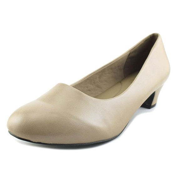 Beacon Carrie Women W Round Toe Synthetic Gray Heels
