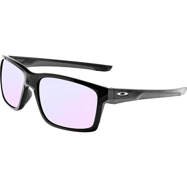 ad08a13385a Shop Oakley Mainlink OO9264-23 Black Rectangle Sunglasses - Free ...