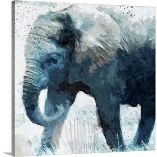 """""""Elephant"""" Canvas Wall Art"""