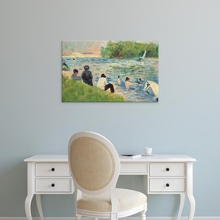 Easy Art Prints National Gallery of Art's 'Bathers' Premium Canvas Art