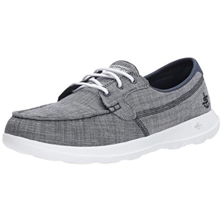 Go Walk Lite-15433 Boat Shoe,Navy