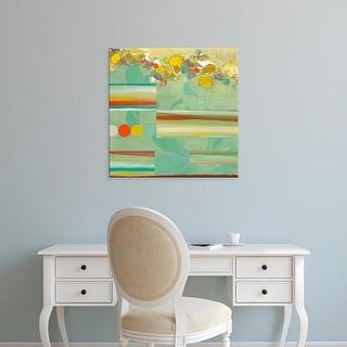 Easy Art Prints Jodi Fuchs's 'Orchestrate I' Premium Canvas Art