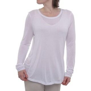 Elie Tahari Anya Knit Shirt Women Regular T-Shirt