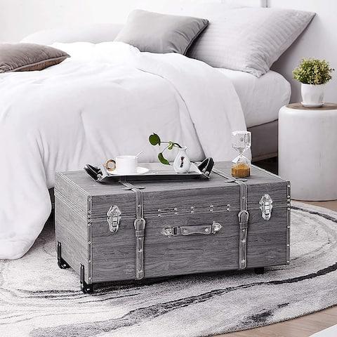 Texture® Brand Trunk - Marble Gray Oak