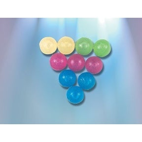 Ice Balls Asst Colors Set of 10