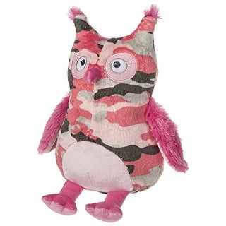 Mary Meyer Baby Girls' Pink Camo Owl Plush Toy