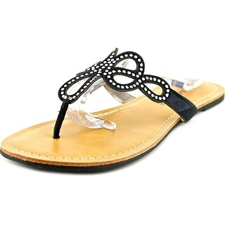 Rampage Tealsing Open Toe Canvas Thong Sandal