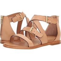Isola Womens Sharni Leather Open Toe Casual Strappy Sandals - 10