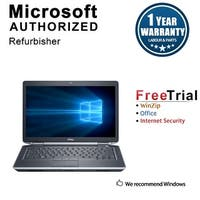 "Refurbished Dell Latitude E6430S 14.0"" Laptop Intel Core i5 3320M 2.6G 12G DDR3 750G DVD Win 10 Pro 1 Year Warranty - Black"