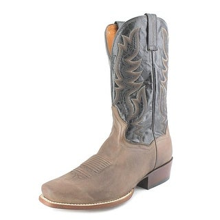 Dan Post Missoula Men W Square Toe Leather Brown Western Boot