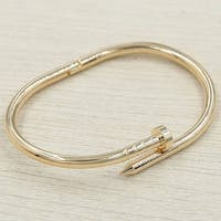 Mad Style Rose Gold Nail Bracelet - rose gold