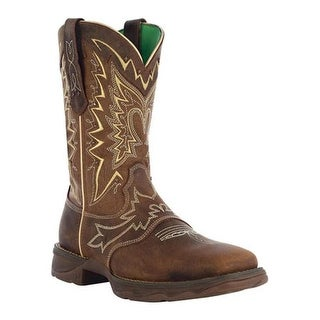 "Durango Boot Women's RD4424 10"" Lady Rebel Nicotine/Brown"